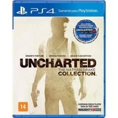 [Submarino] Uncharted: The Nathan Drake Collection para PS4 - R$102,58