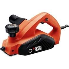 [EFACIL] Plaina Elétrica 7698BR 16.500rpm 82,0mm 650w - Black & Decker POR R$ 194