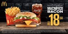 [Mc Donalds] McOferta McNÍFICO Bacon Média por R$ 19