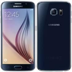 """[EFACIL] Smartphone Galaxy S6 Preto Tela 5.1"""" 4G+WiFi, Android 5.0, Câmera 16MP, Memória 32GB - Samsung Por R$ 1860"""