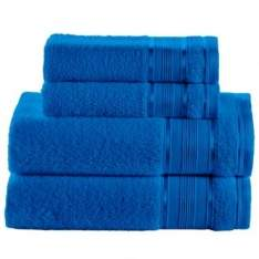 [Clube do Ricardo] Jogo de Banho 4 peças Toalhas 100% Algodão 360 g/m² Linha Royal Knut Royal - Santista - R$34,90