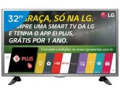 "[Magazine Luiza] Smart TV LED 32"" LG 32LH570B Conversor Digital - Wi-Fi 2 HDMI 1 USB"