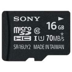 [Walmart] Cartão de Memória Sony Micro SD SR16UY2A/TQ 16 GB por R$ 30