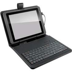 """[Americanas] Teclado Multilaser Mini Slim USB + Capa para Tablet 9,7"""" - R$ 34,90"""