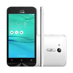 [Walmart/Webfones] Smartphone Asus Zenfone Go ZB452 Branco, Android 5.1, Tela de 4.5', Camera Traseira 5MP, Processador Qualcomm Snapdragon MSM8212 1,2 GHz, 2 MB Cache