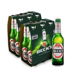 [Empório da Cerveja] Cerveja Beck´s 275ML 2 Caixas - R$ 30