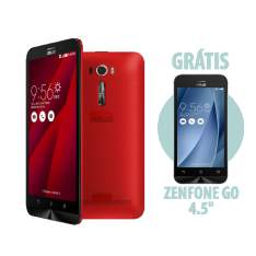 """[ASUS] Zenfone 2 Laser 6"""" Vermelho + Zenfone Go 4,5"""" Amarelo"""