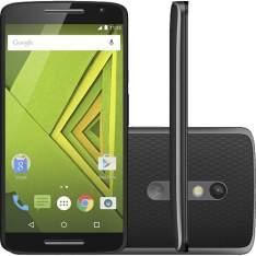 "[Submarino] Smartphone Motorola Moto X Play Dual Chip Desbloqueado Android 5.1.1 Tela 5.5"" 32GB 4G 21MP - Preto por R$ 1472"