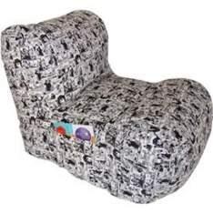 [ShopFácil.com] Puff Relax Lona Quadrinhos - R$161,49