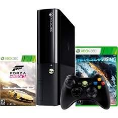 [Americanas]Console Xbox 360 500GB + 2 Jogos + Controle Sem Fio + 3 Meses Garantia
