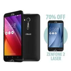 """[Lojas da Asus] 2 Smartphones - Zenfone Laser 5.5"""" 1Gb ram 8Gb Memória Interna por R$ 1233"""