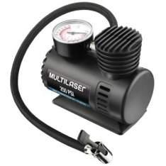 [Clube do Ricardo] Compressor de Ar Automotivo 12V 60W com 3 Adaptadores - Multilaser - por R$33