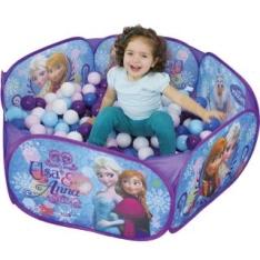 [Bebê Store] Piscina de Bolinhas Frozen com 100 bolinhas - por R$85