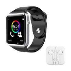 [Ponto Frio] Kit Relógio celular SmartWatch Touch Screen com entrada CHIP e Micro SD + Fone de ouvido