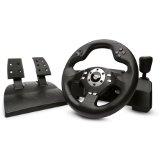 [Walmart] Volante Dual Shock Sem Fio - Dazz - R$170