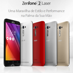 "[Kabum] Smartphone Asus Zenfone 2 Laser 5.5"" 16GB, 2GB RAM, Câmera 13MP 4G + película - R$850"