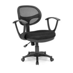[Mobly] Cadeira de Escritório Canadá com braço Preta - R$208,99