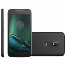 [Colombo] Smartphone Motorola Moto G4 Play, 16GB, Dual, 8MP, 4G, Preto - XT1600