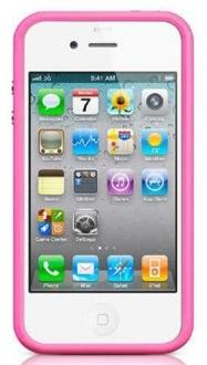 [SARAIVA] Capa Bumper Kingo Rosa Para iPhone 5