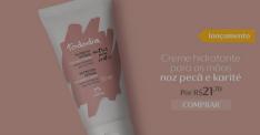 [Natura] Creme Hidratante para as Mãos Noz Pecã e Karité Tododia - 50ml Frete Grátis R$ 22