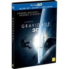 [Submarino]Blu-Ray Gravidade 3D - Blu-Ray 3D + Blu-Ray + Cópia Digital