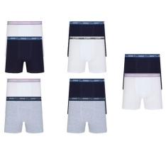 [AMERICANAS] Kit Com 10 Cuecas Boxer Lupo Cotton Confort  - R$100