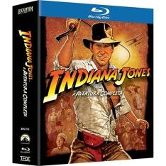 [Americanas] Box Blu-Ray Coleção Indiana Jones: A Aventura Completa (5 Discos) - R$59,99