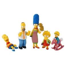 [Walmart/BUG] Boneco Os Simpsons Display com 24 Peças - Referência do Modelo BR205 por R$ 11