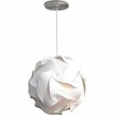 [Americanas] - Pendente Orbit Média Plástico Branca - Avelis - R$30