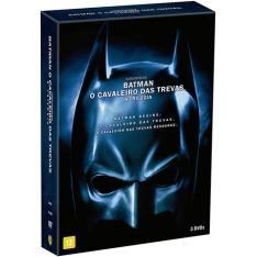 [Americanas] Coleção Batman O Cavaleiro das Trevas - A Trilogia (3 DVDs) R$15,75 1x cartão // 17,90 boleto