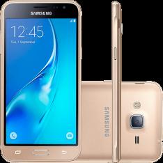 [Americanas] Smartphone Samsung Galaxy J3 Dual Chip Android 5.1 Tela 5'' 8GB 4G Wi-Fi Câmera 8MP - Dourado por R$