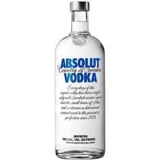 [Americanas] Vodka Absolut 1 litro - R$69,99