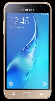 """[Saraiva] Smartphone Samsung Galaxy J3 2016 Dual Chip Dourado Tela 5""""Android 5.1 Quad Core Câmera 8Mp 8Gb por R$ 597"""