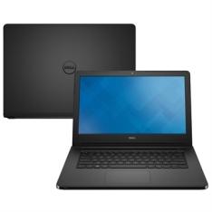 """[EFACIL] Notebook Inspiron 14-5458-D08P, Intel Core i3, 4GB RAM, HD 1TB, Tela 14"""", Linux, Preto Texturizado - Dell POR R$ 1762"""