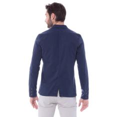 [PRIVALIA OUTLET] Blazer Com Bolsos Azul Marinho Malwee
