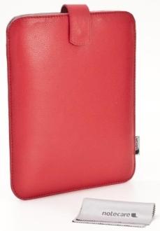 [SARAIVA] Sleeve Em Couro Notecare Nc123 Vermelho Para iPad