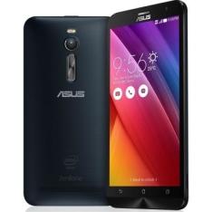"""[Fnac] SMARTPHONE ASUS ZENFONE 2 6J546WW PRATA 32GB TELA 5,5"""" DUAL CHIP ANDROID 5.0"""" 4G CAMERA 13MP PROCESSADOR QUAD CORE 2.3 GHZ RAM DE 4GB CELULAR - R$1099"""