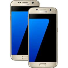 [Americanas] Smartphone Samsung Galaxy S7 32GB Dourado + Smartphone Samsung Galaxy S7 32GB Dourado por R$4986