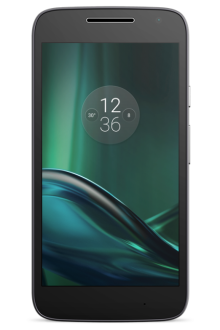 "[Saraiva] Smartphone Motorola Moto G 4 Play Preto Tela 5"" Android™ 6.0.1 Marshmallow Câm 8Mp Dualchip 16Gb por R$ 765"
