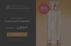 [Natura] Deo Parfum Essencial Feminino - 100ml R$ 120