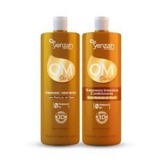 [Ikesaki] Kit Yenzah OM Ouro Shampoo 1000ml + Condicionador 1000ml por R$50