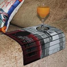 [Sou Barato] Bandejas Flexíveis para Sofá (várias estampas) - R$14,99 + cupom 10%