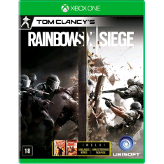 [Americanas] Game - Tom Clancys Rainbow Six: Siege - Xbox One por R$ 106