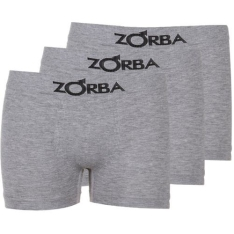 [Lojas Americanas] Kit Com 3 Cuecas Boxer Zorba Sem Costura G - R$ 29
