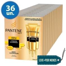 [Clube do Ricardo] Leve Mais Pague Menos: 36 Ampolas de Tratamento Pantene - por R$70