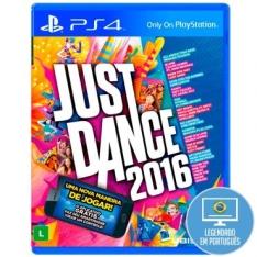 [RICARDO ELETRO] Jogo Just Dance 2016 para Playstation 4 (PS4) - Ubisoft UTILIZANDO CUPOM: C90D-2155-B128-4AF6