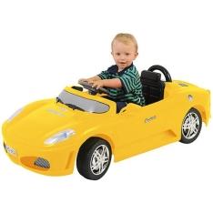 [Americanas] Carro Elétrico Infantil Roadster Amarelo 6V - Xalingo por R$ 370