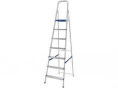 [ Magazine Luiza ] Escada em Alumínio 7 Degraus - Mor por 99,90