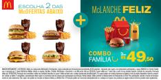 [McDonalds] Combo Família no Mc Donalds por R$ 50