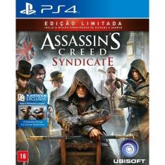 [Extra] Jogo Assassin's Creed: Syndicate - Signature Edition - PS4 por R$80